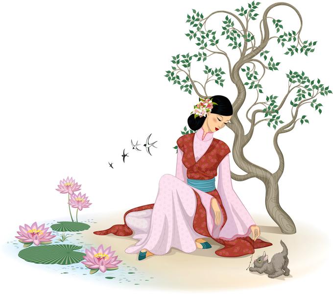中国古代の女性:富貴な時こそ困窮の日々を思う