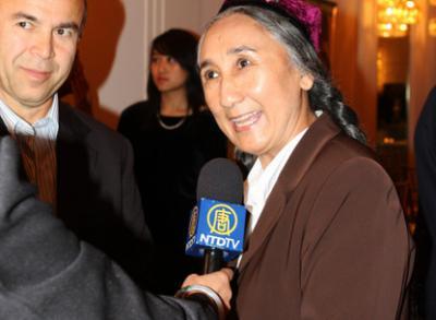 世界ウイグル会議のラビア・カーディル議長