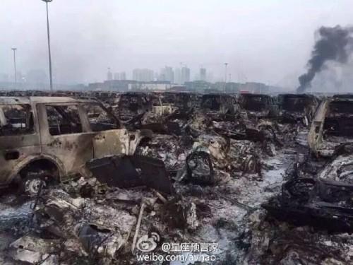 天津爆発ー終末
