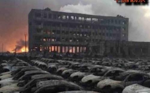 天津爆発輸入車