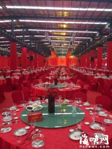 福建土豪の漢民族伝統の結婚披露宴