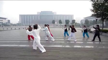 太極拳の朝練